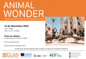 13-11-19 Cartaz Animal Wonder