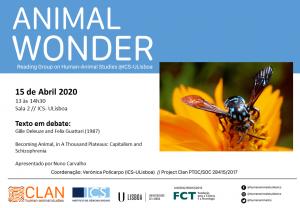 11-03-2020 Cartaz Animal Wonder