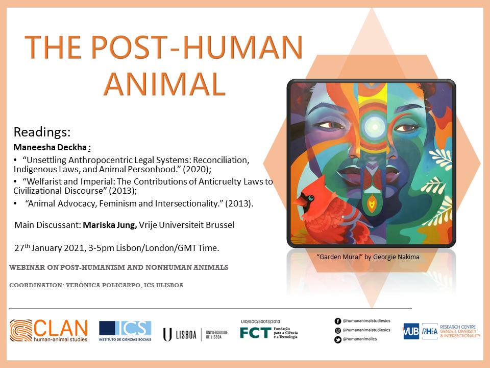 Post-human Animal Cartaz