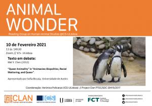 10-02-2021 Cartaz Animal Wonder