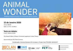 15-01-2020 Cartaz Animal Wonder