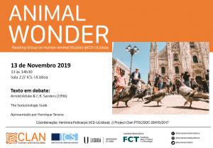 13-11-19 Cartaz Animal Wonder