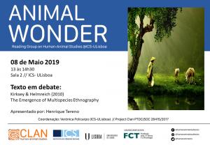 Cartaz-Animal Wonder-Reading-Group-Sessao09-8 de Maio